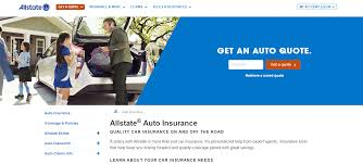 u s insurance giant allstate uses its brand tld to redirect traffic to its main auto insurance page