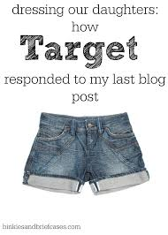 Dressing Our Daughters How Target Responded To My Last Blog