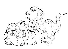 Tarbosaurus Coloring Pages Kidsadultcoloring
