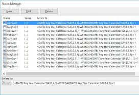 Sundays Only Calendar Excel Calendar Template Date Formulas Explained My Online