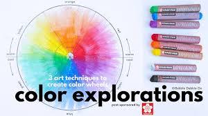 Color Wheel Design Project Color Explorations A Simple Color Wheel Project For Kids
