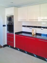 Red And Black Kitchen New Stunning Red And Black Kitchen In Sector B German Kuchen Studio