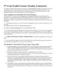 fahrenheit analysis essay co fahrenheit 451 analysis essay
