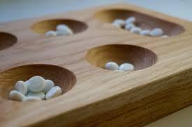 Mancala Wooden Board Game mancalaboardgameukmakemesomethingspecial 31