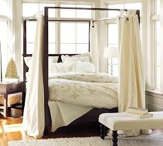 ... canopy bed curtains ideas ...