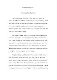 Sample Exemplification Essay Examples Of Exemplification Essays Personal Narrative Essay Examples