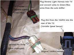 700r4 to t5 swap rewiring simplified pics third generation 2 the big purple and green wires obviously come over from the auto shifter harness