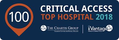 Jchc My Chart Jch L Named Among Top 100 Critical Access Hospitals