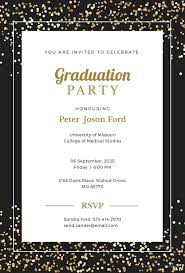 Graduation Announcements Template Graduation Invitation Templates Free Sample Example Format
