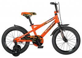 Детский <b>велосипед Schwinn Backdraft</b> 16, оранжевый — купить в ...