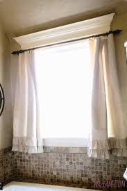 Other : Bathroom Curtain Ideas Window Treatments For Bay Windows ...