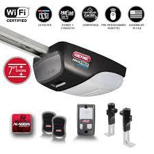 genie machforce connect 2 hp premium drive smart garage door opener