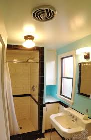 dave and fran s beautiful functional black and white tile bathroom remodel 1930s vintage style retro renovation