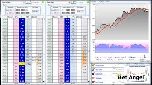Advanced Charting Software Charting With Bet Angel Bet Angel Professional Betfair