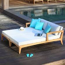 Modern outdoor daybed Aluminum Zenhit Double Daybed Home Infatuation Outdoor Daybed Daybeds Patio Day Bed Modern Homeinfatuationcom