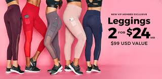 exclusive offer 2 for 24 leggings