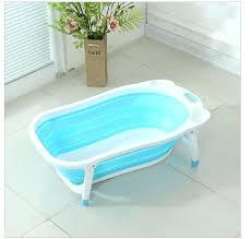 newborn baby folding bath tub swim tubs washing portable children bathtub