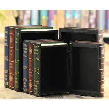 Decorative Fake Book Boxes