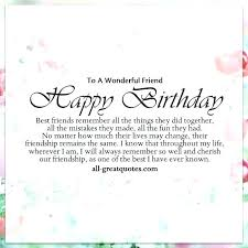 Birthday Wishes For Best Friend Female Quotes Impressive Birthday Wishes For Best Friend Female Quotes Excellent Birthday