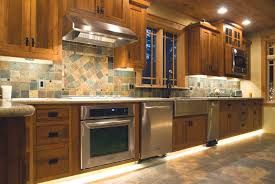 strip lighting ideas. Kitchen With LED Strip Lights Lighting Ideas