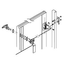 manual garage door locks changing a garage door lock simple photo t handle replacement no key
