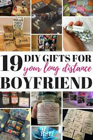 diy gifts for your long distance boyfriend