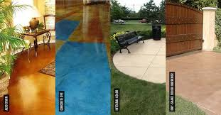 Brickform Acid Stain Color Chart Concrete Stains What Is The Best Concrete Stain The