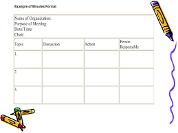 Meeting Of Minutes Format How To Write Effective Meeting Minutes