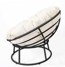 pampasan chair. Furniture Wicker Bowl Chair Incredible Modernize The Papasan Spray Paint Frame Matte Black Be Picture Pampasan