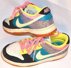 nike 6 0 skate shoes. women\u0027s nike dunk low 6.0 athletic neon denim-sparkle retro skate shoes - 8.5 6 0 t