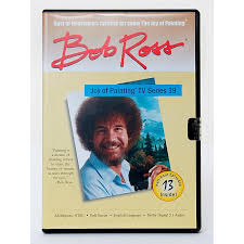 this bob ross joy of painting tv series dvd features 13 episodes of bob ross s joy