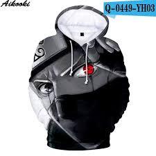 <b>Aikooki Hot Anime Naruto</b> Hoodies Men Women Winter pullovers 3D ...
