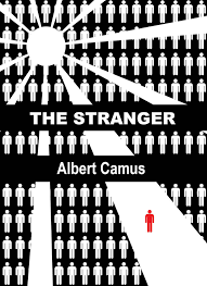the stranger book cover google search the stranger book we were reading the stranger by albert camus and part of our final was to create a book cover and explain how th the stranger