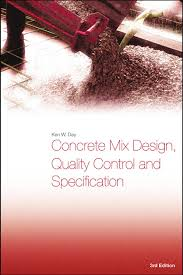 Astm Standards For Concrete Mix Design Concrete Mix Design Quality Control And Specification 3rd