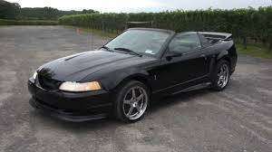1999 Ford Mustang SVT Cobra Roush Convertible For Sale~Triple ...