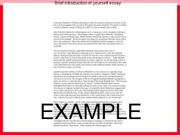 brief introduction of yourself essay research paper help brief introduction of yourself essay yourself introduce short essays dissertation awards psychology definitions aiish library
