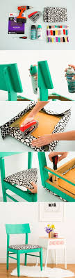 20 DIY Chair Makeovers, #14 Is The Best Bar Stool I\u0027ve Ever Seen.