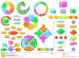 Flow Chart Stock Vector Illustration Of Chart Organisation