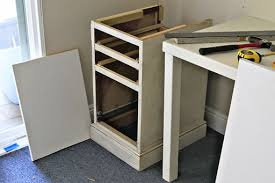 diy office storage. DIY Desk Via Lilblueboo.com #decor #office #diy #homedecor #organization Diy Office Storage