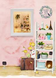 diy dollhouse furniture. Home Decoration Crafts Wooden Doll Houses Miniature Diy Dollhouse Furniture Kit Toys For Children Gift W-005