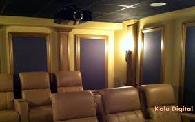 home theater acoustic panels. custom home theater acoustic panels framed