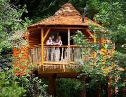 The Phoenix Tree  Treehouse Quirky Styling Elevated Bedroom Family Treehouse Holidays Uk