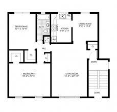 Simple Blueprint Marvelous Simple House Blueprints With Measurements Simple House