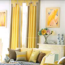 Lässig Moderne Leinen Baumwolle Mischung Geometrisch Gelb