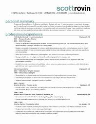 Resume Samples For Creative Design Professionals New Freelance