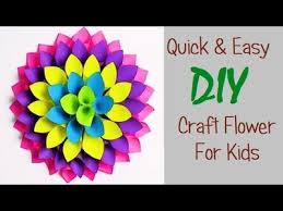 how to make easy paper craft diy paper craft ideas