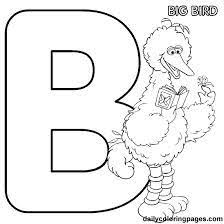 Small Picture Top 25 Free Printable Big Bird Coloring Pages Online Big bird