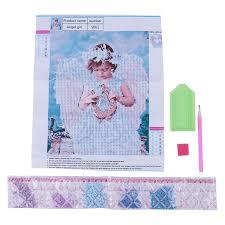 5d diy diamond painting kit rhinestone crystals embroidery cross stitch kit a4x8