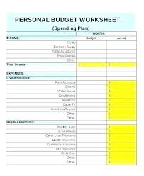 Simple Budget Plan Basic Budget Sheet Template Simple Paycheck Budgeting