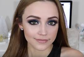 blue sparkling eyes easy eye makeup for green eyes guide to make up tutorial